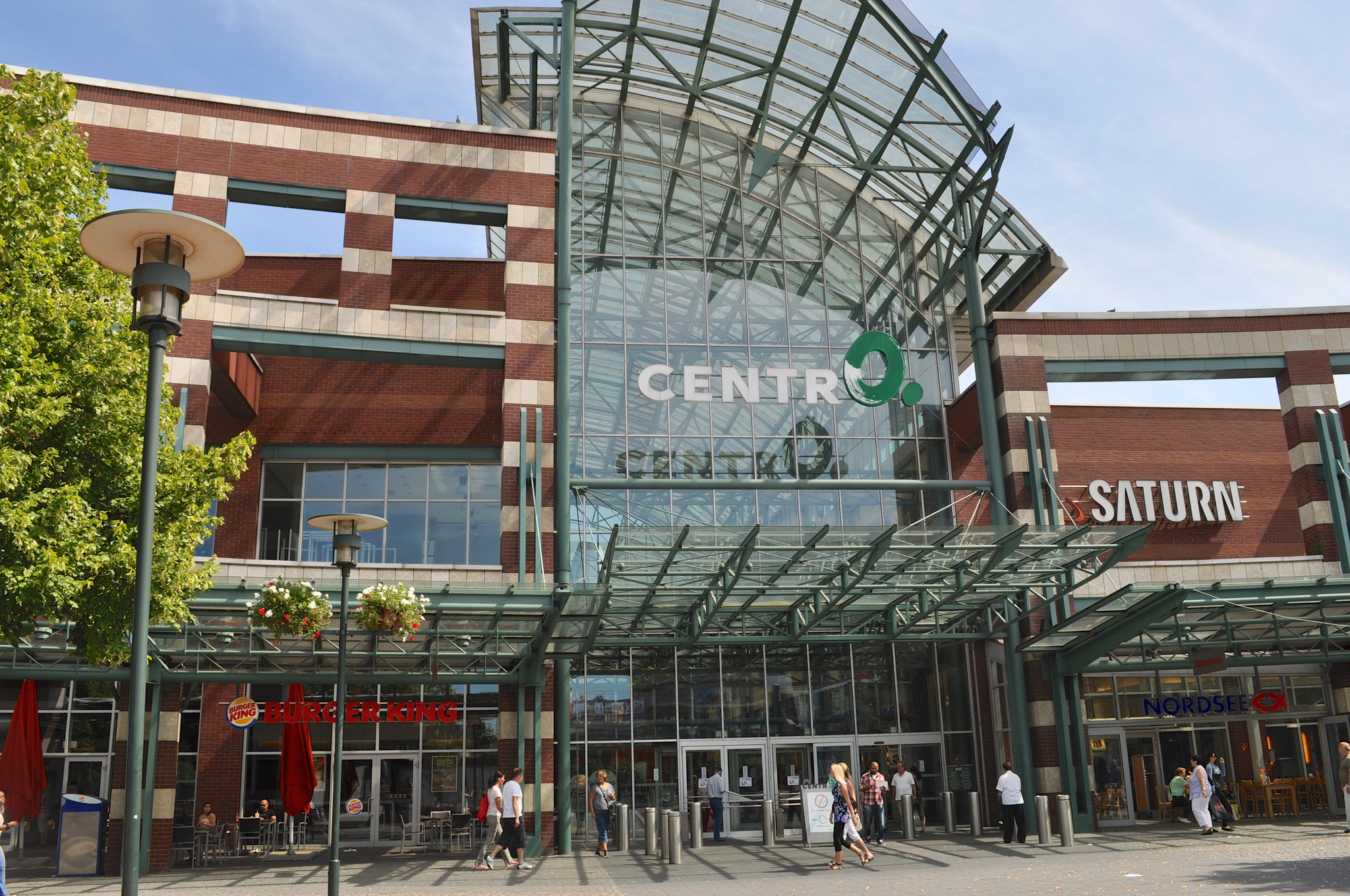 CentrO Shopping Mall in Oberhausen Thousand Wonders