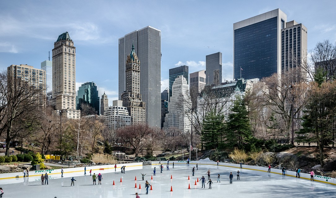 Central Park ice rink - Central