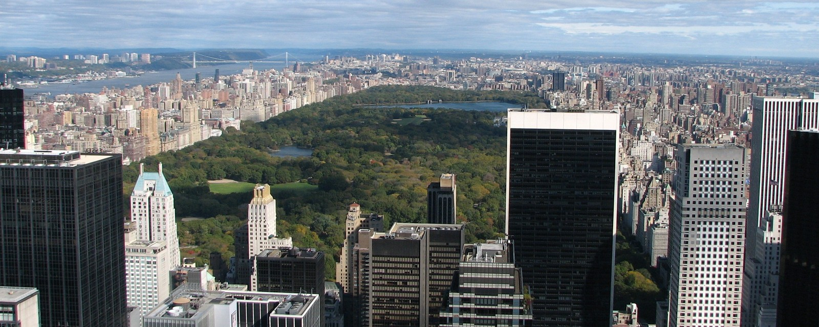 New York Oct '08 302  Central Park from the Top