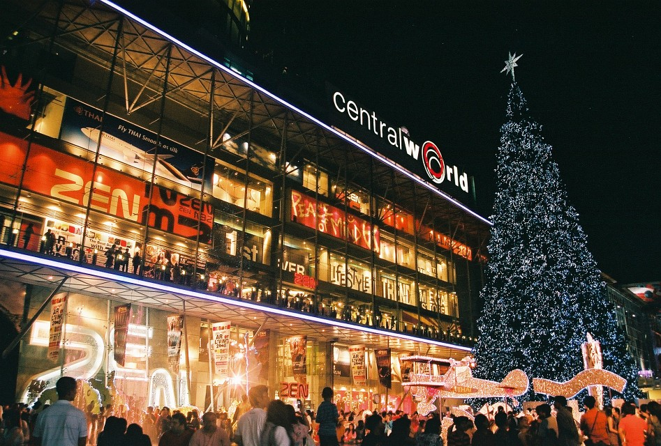 CentralWorld Shopping Mall at Christmas -