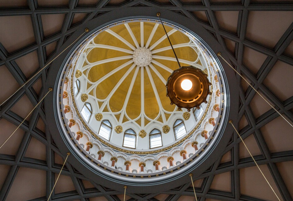 The Library of Parliament - Ceiling - Centre Block