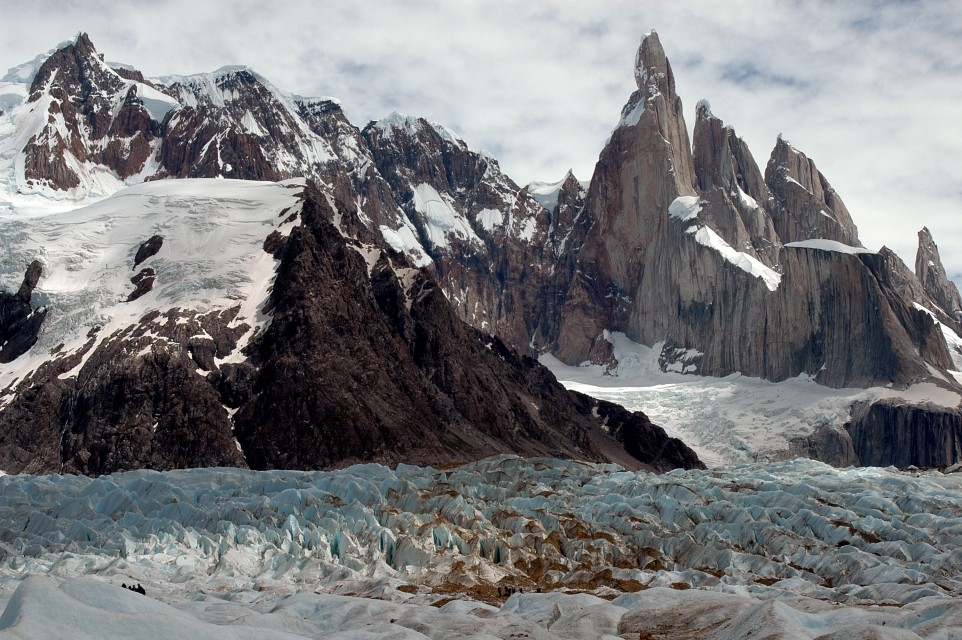 Cerro Torre and its Glacier - Cerro Torre