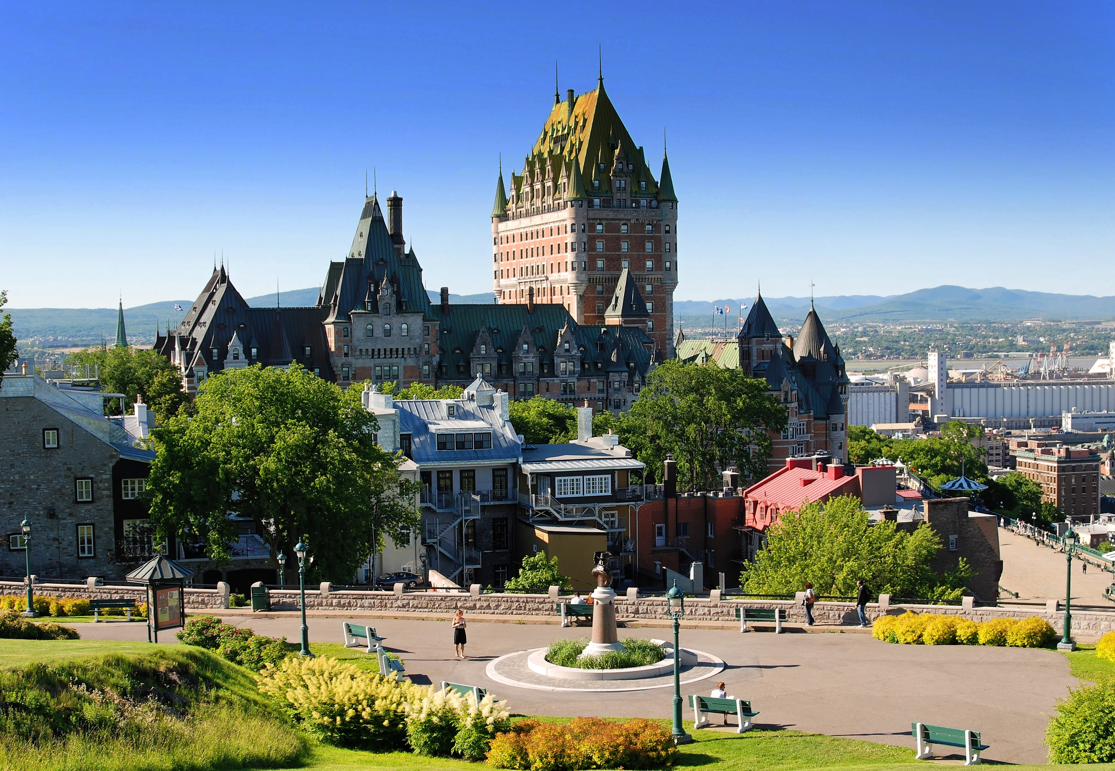 Ch 226 Teau Frontenac Hotel In Quebec City Thousand Wonders