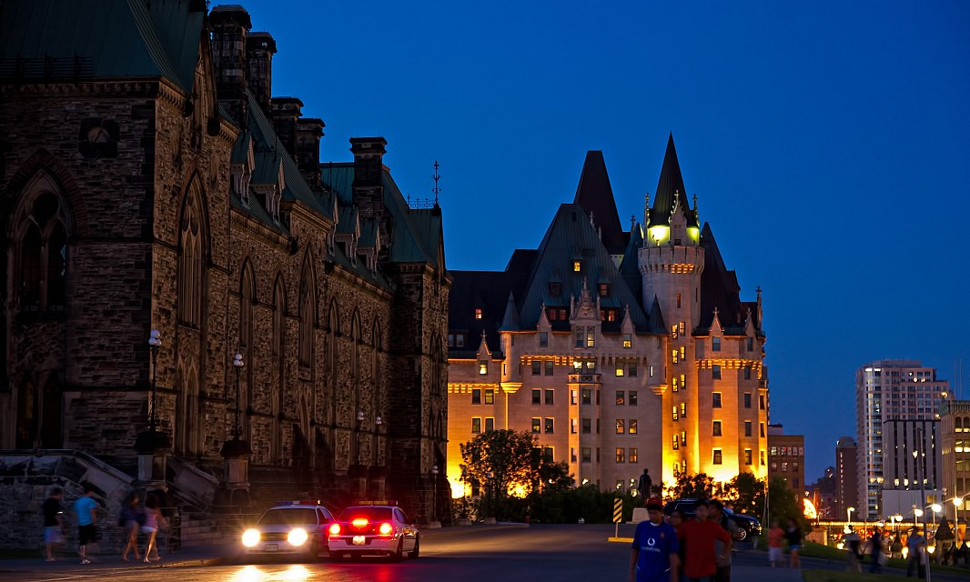 Chateau Laurier and East Block - Château Laurier