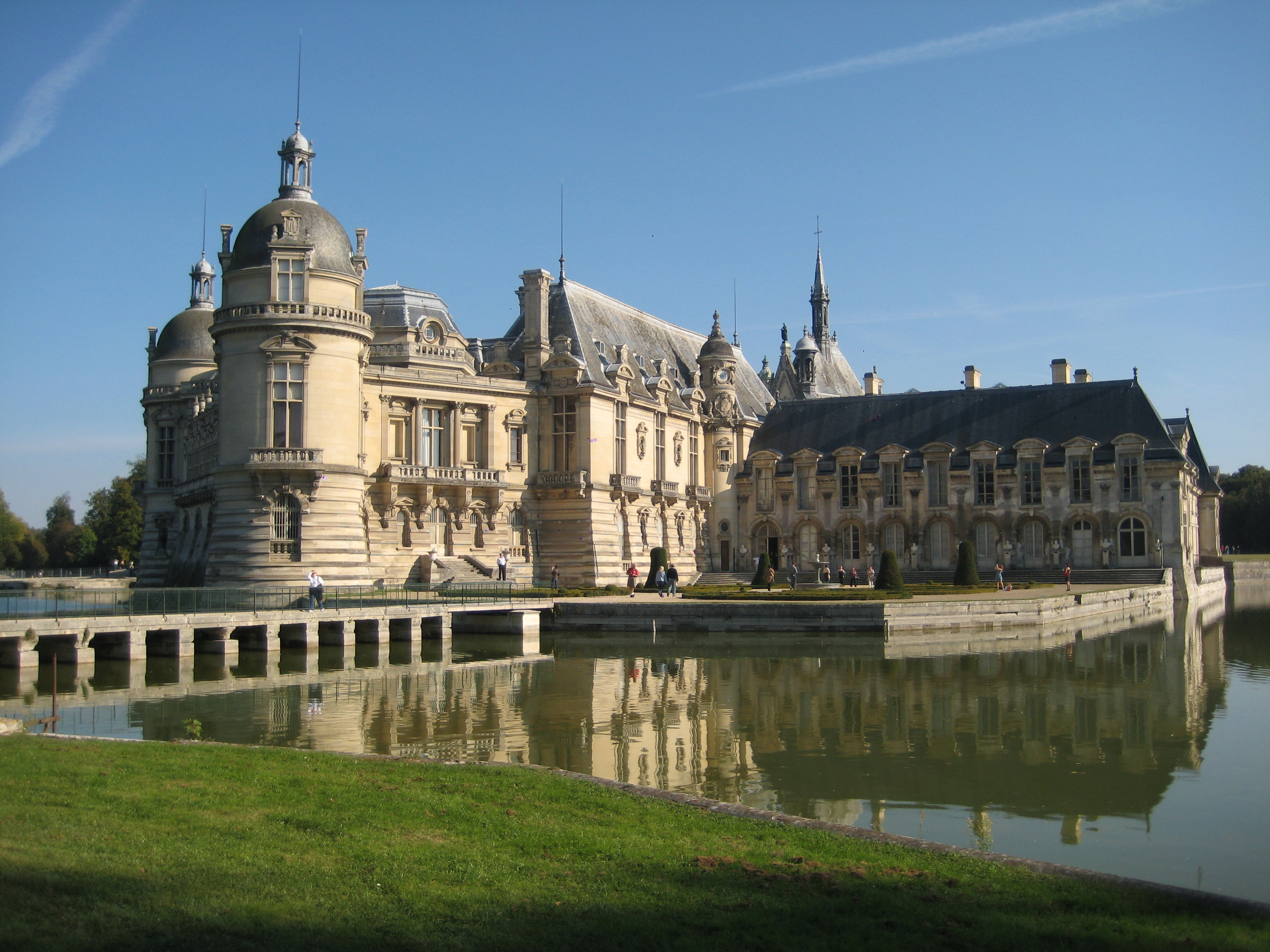 ch teau de chantilly castle in france thousand wonders