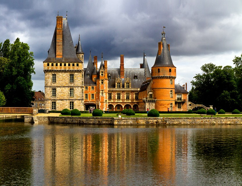 Château de Maintenon. Castle in France, Europe
