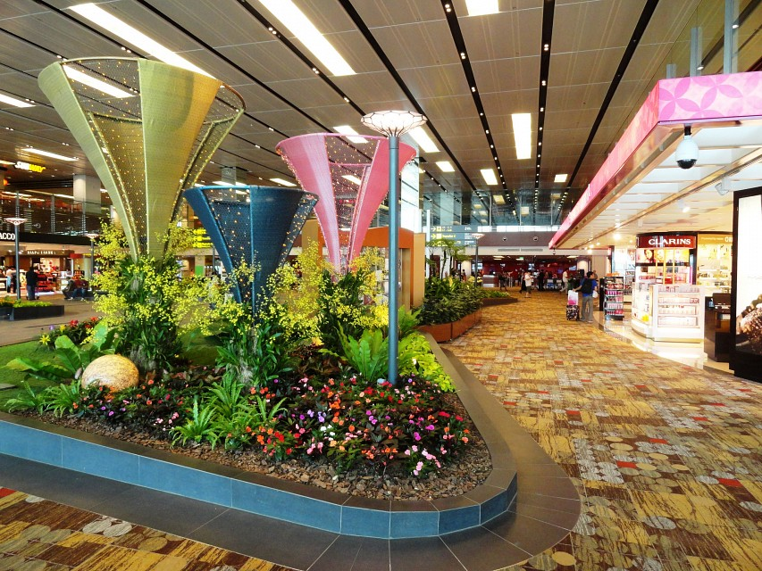 Changi Airport, Singapore - Changi International Airport