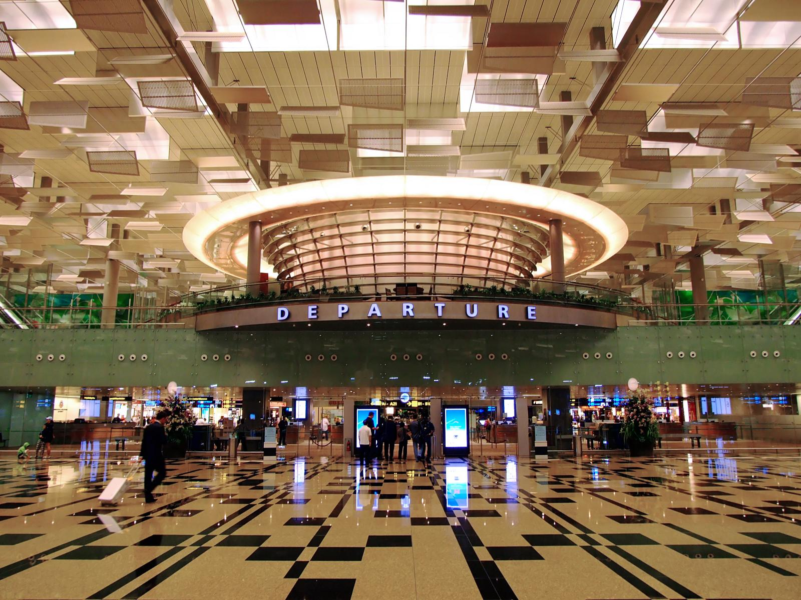 Changi International Airport Airport In Singapore