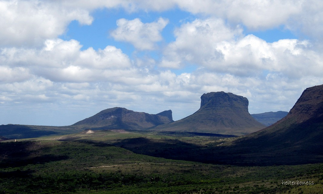 Vista do Morro do Pai Inácio - Father Inácio's Hill - Chapada Diamantina National Park
