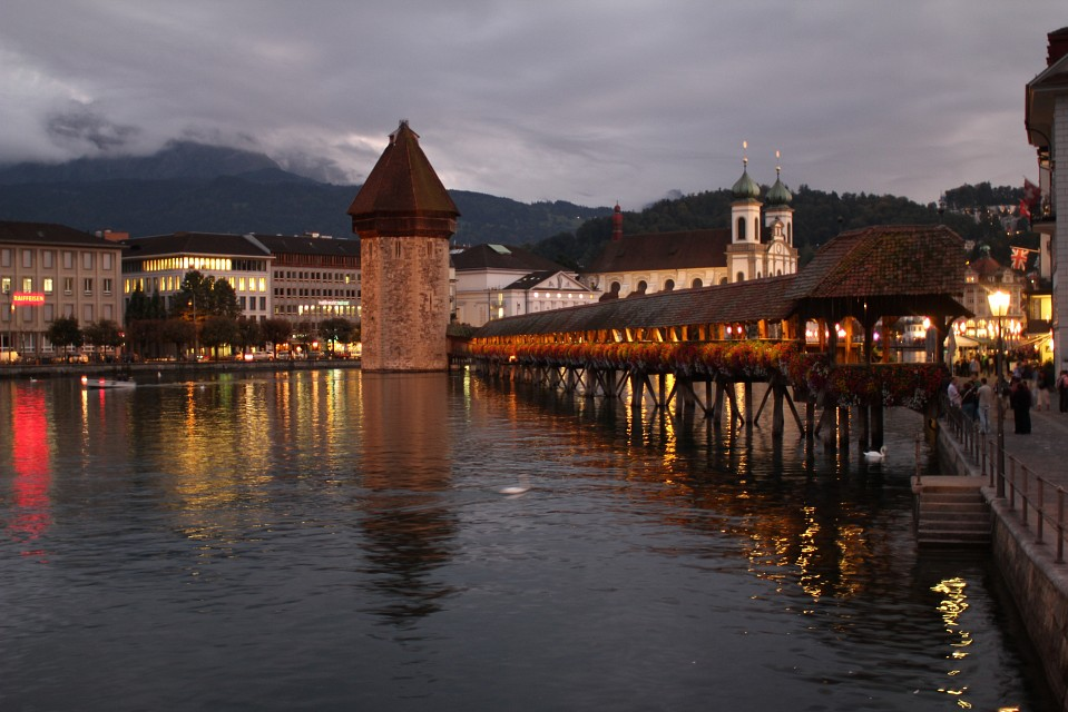 Chapel Bridge in Luzern - Chapel Bridge