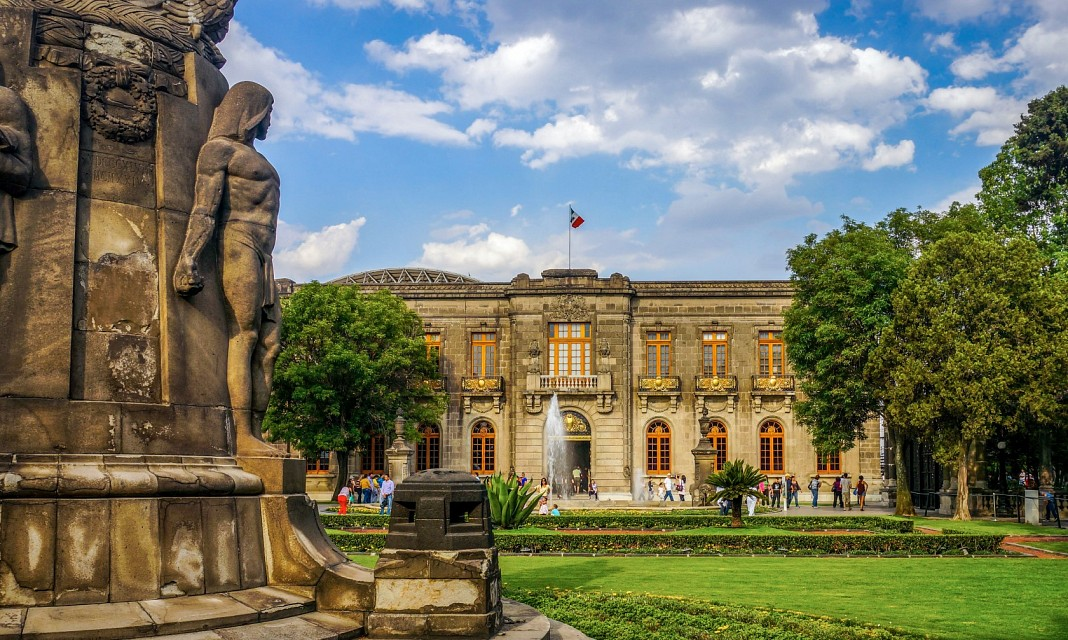 Chapultepec Castle Mexico city - Chapultepec Castle