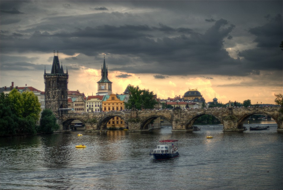 Charles Bridge sunset - Charles Bridge