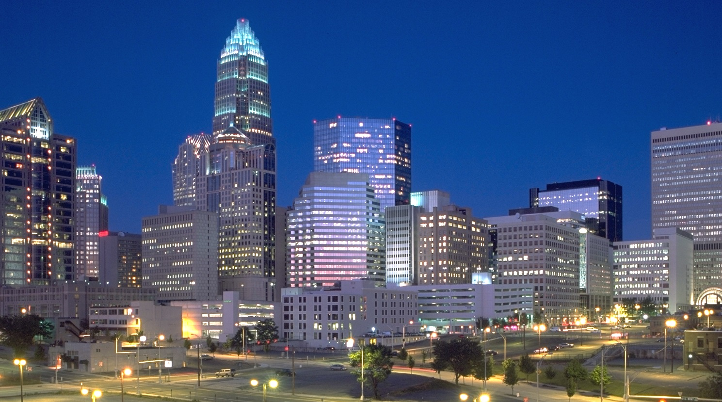 charlotte city in united states sightseeing and