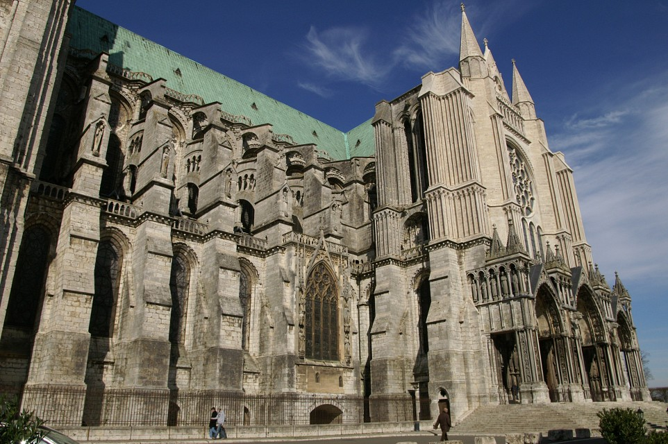 The South Front - Chartres Cathedral