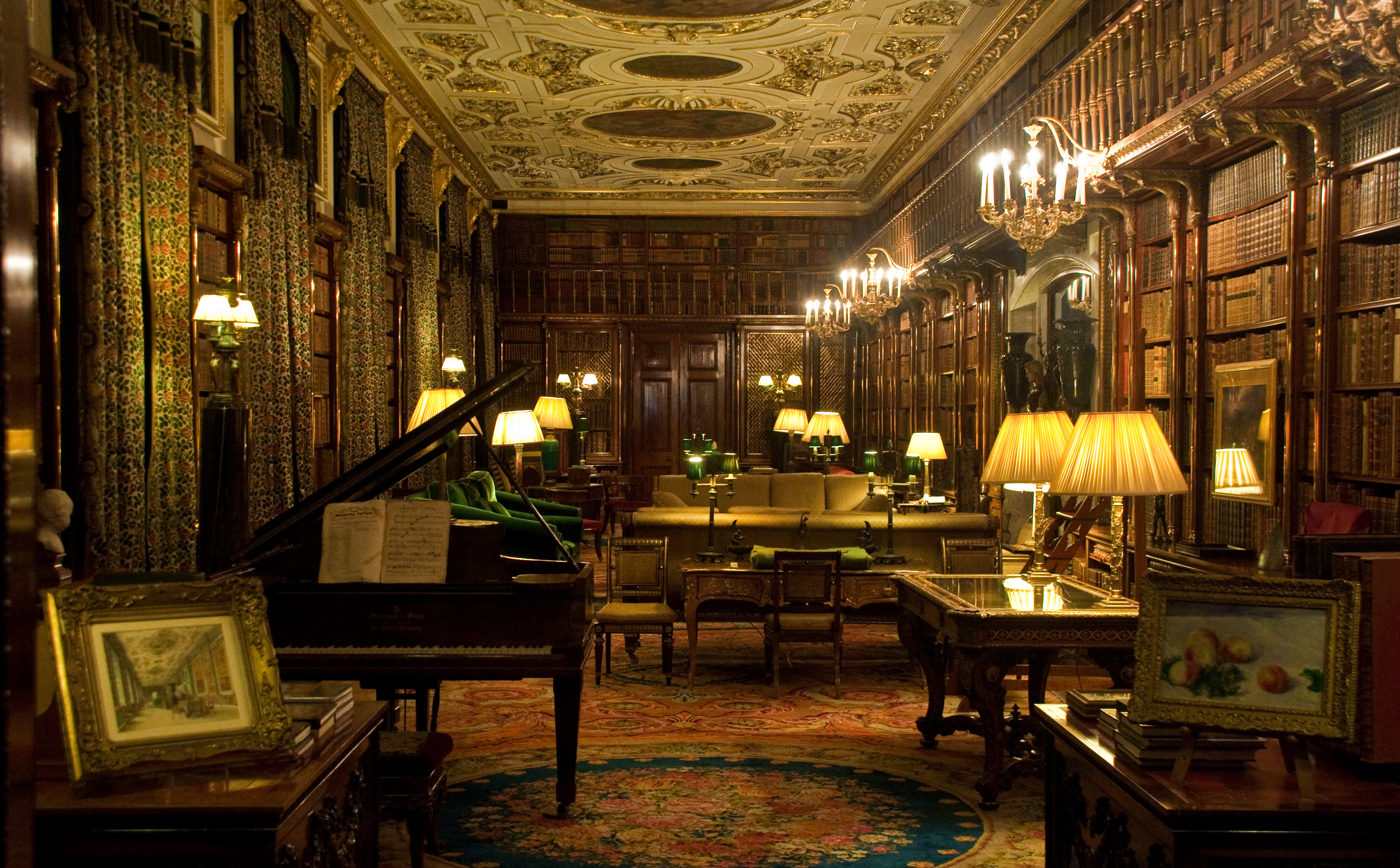 Chatsworth House Private Residence In United Kingdom