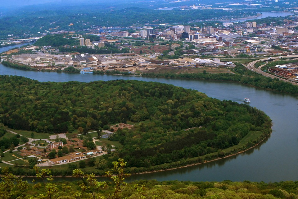 Moccasin Bend and Chattanooga - Chattanooga