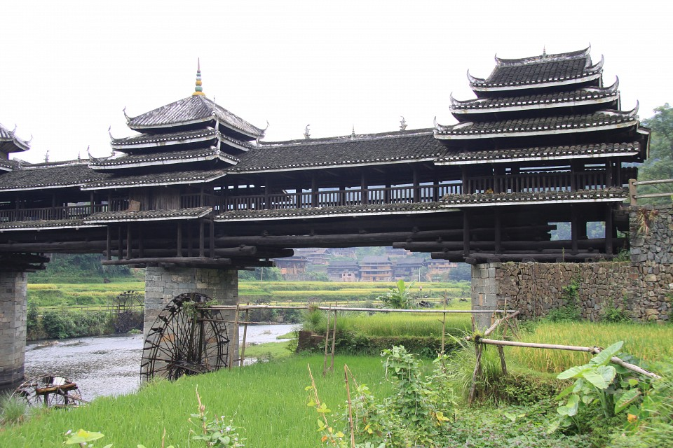 Chengyangqiao Wind and Rain Bridge - Chengyang Bridge