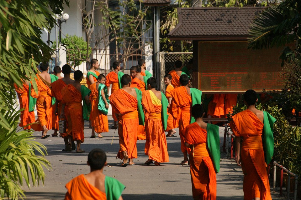 Buddhist Monks - Chiang Rai