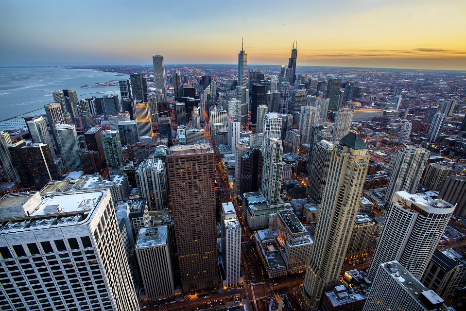 The Iconic View from John Hancock Tower - Chicago
