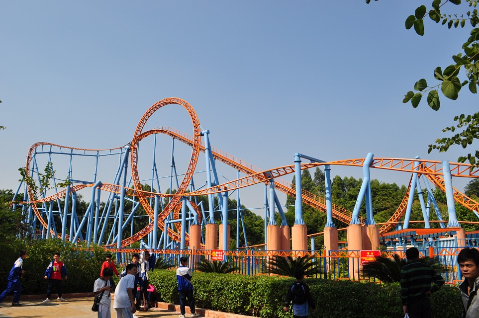 10 Inversion Rollercoaster - Chime-Long Paradise