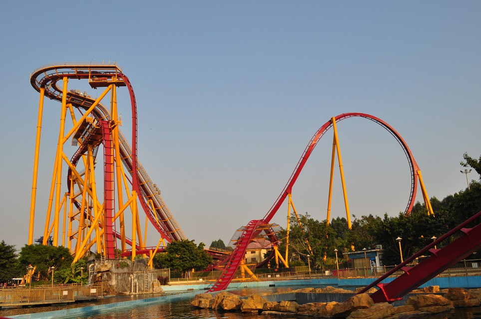 The Dive Coaster - Chime-Long Paradise