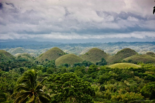 Chocolate Hills - Chocolate