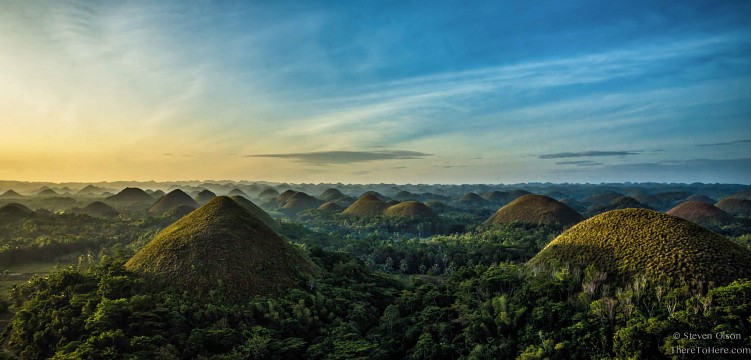Chocolate Hills Natural