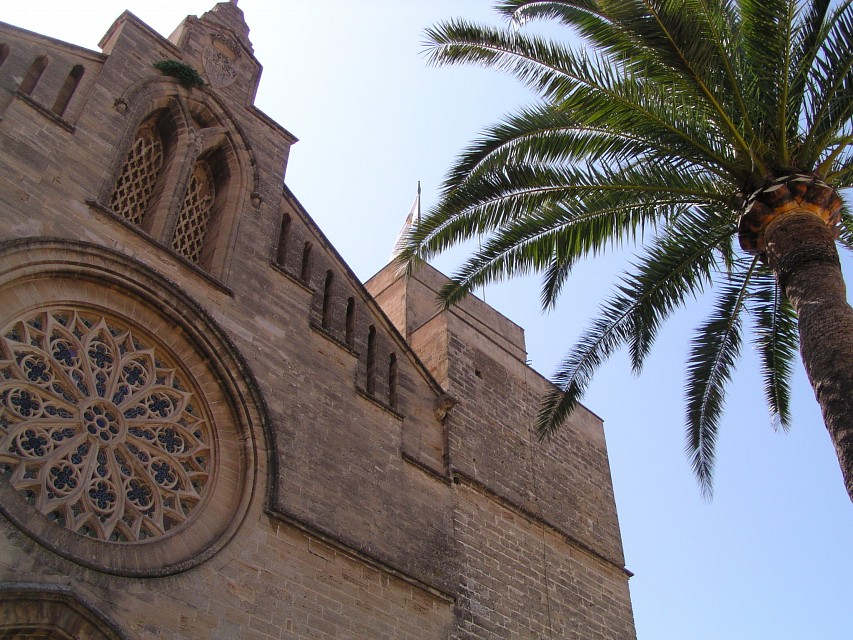 The Church St Jaume in Alcudia - Church of St. Jaume