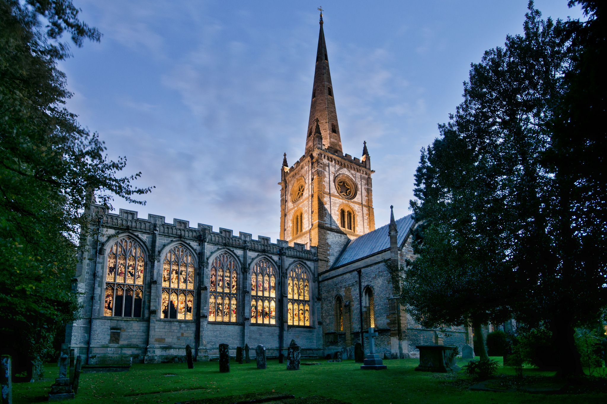 Church Of The Holy Trinity Church In England Thousand