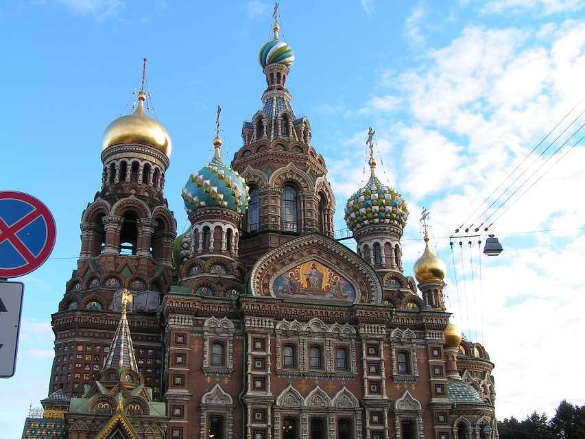 Church of Our Savior on the Spilled Blood, St Petersburg - Church of the Savior on Blood