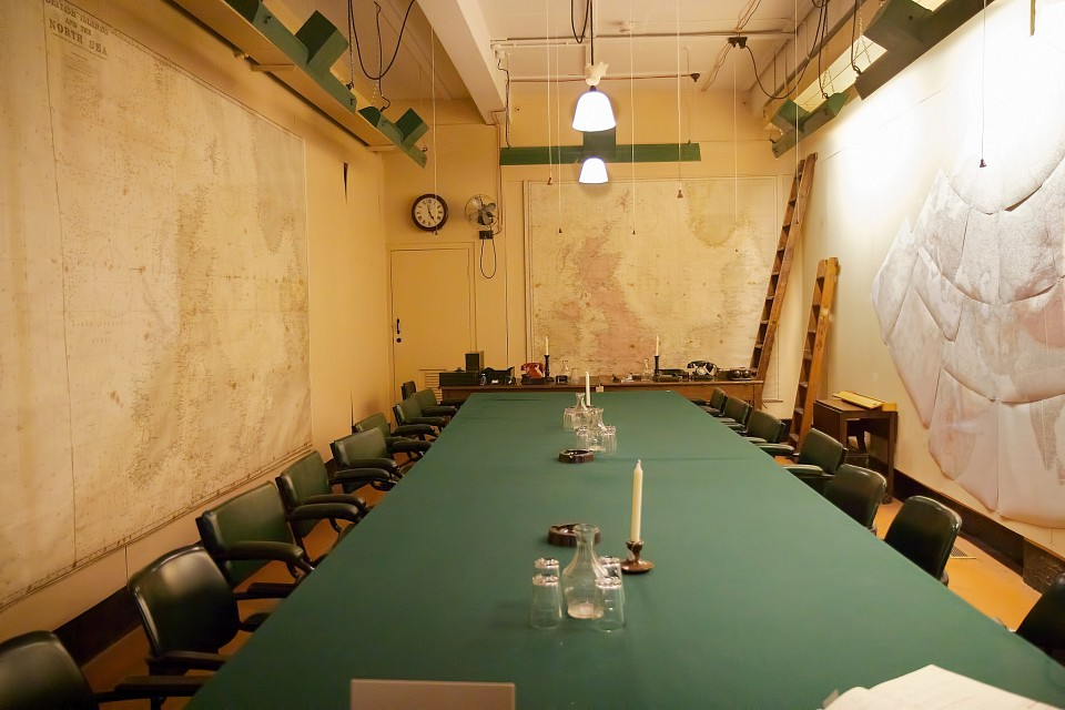 Churchill war rooms museum in london thousand wonders - Churchill war cabinet rooms ...
