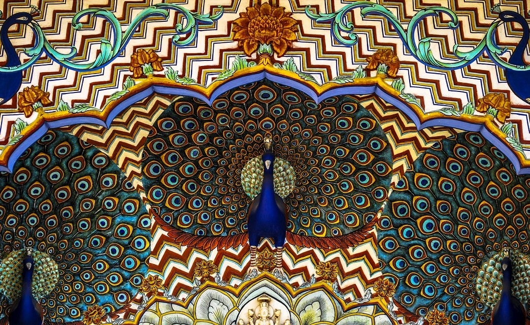 Peacock Gate, City Palace, Jaipur, Rajasthan, India - City Palace Jaipur