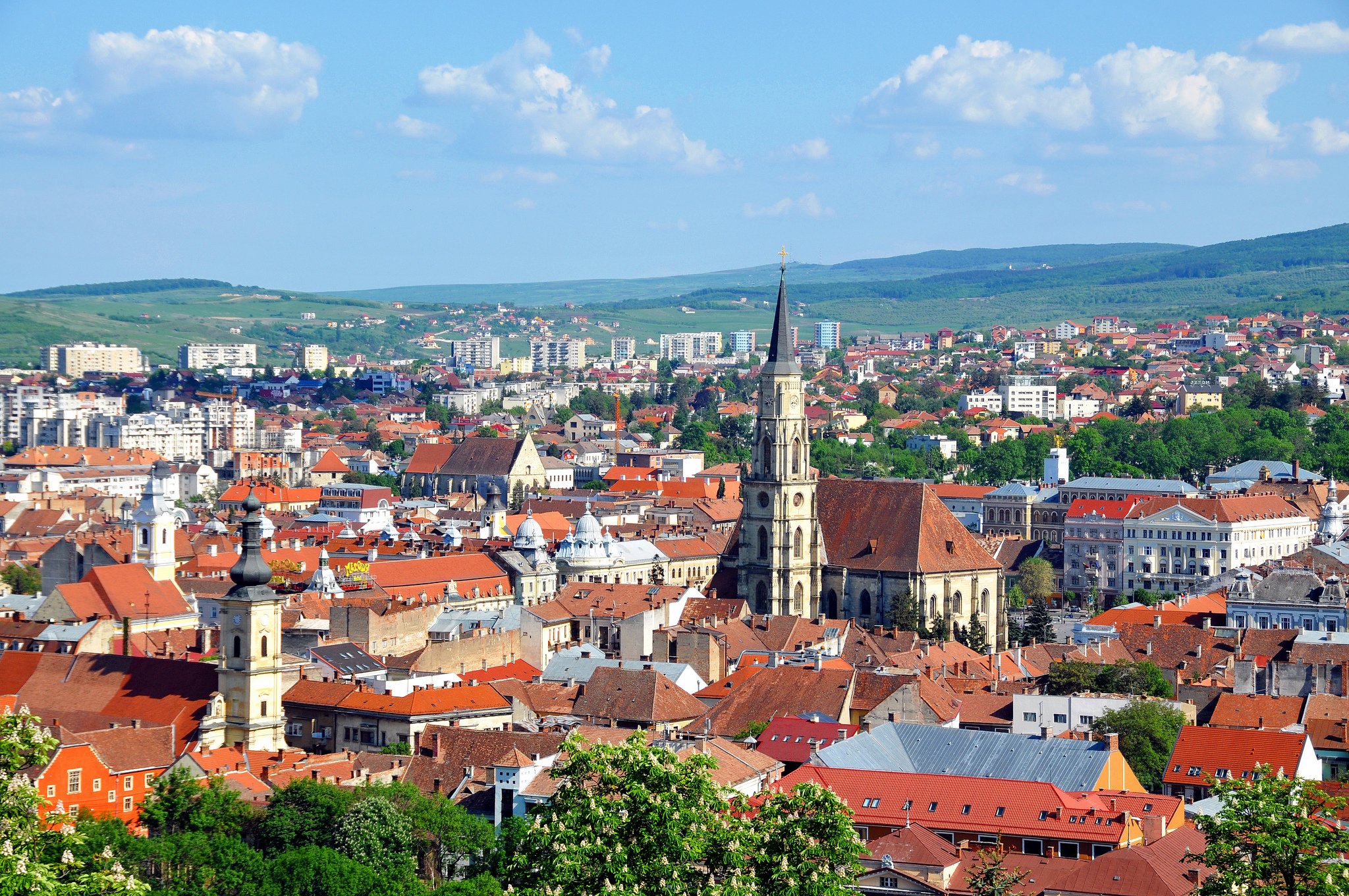 Cluj Napoca in Romania Sightseeing and Landmarks Thousand – Romania Tourist Attractions Map
