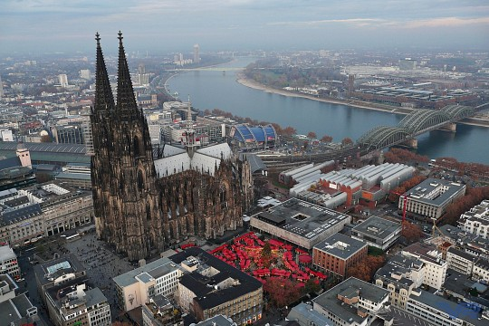 Flight over Cologne - Cologne