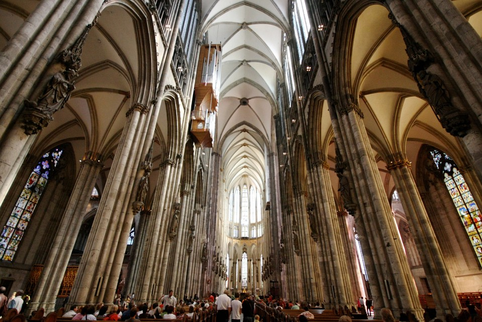 Cologne Cathedral Nave - Cologne