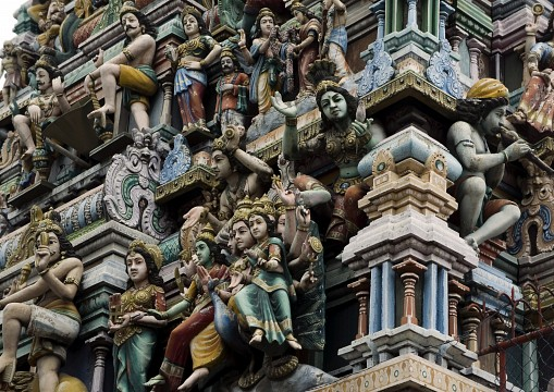 typical Hindu temple Colombo - Colombo
