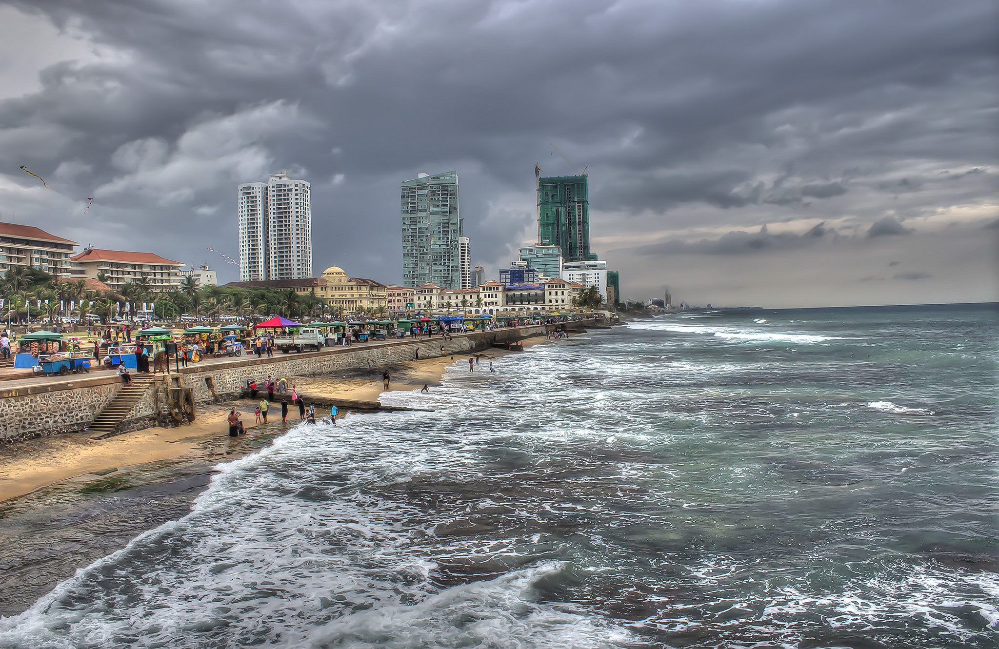 the city of colombo Map of colombo, located on the west coast of sri lanka colombo is the most prominent urban metropolis in the country visitors to this city can find a variety of businesses and modern attractions here.