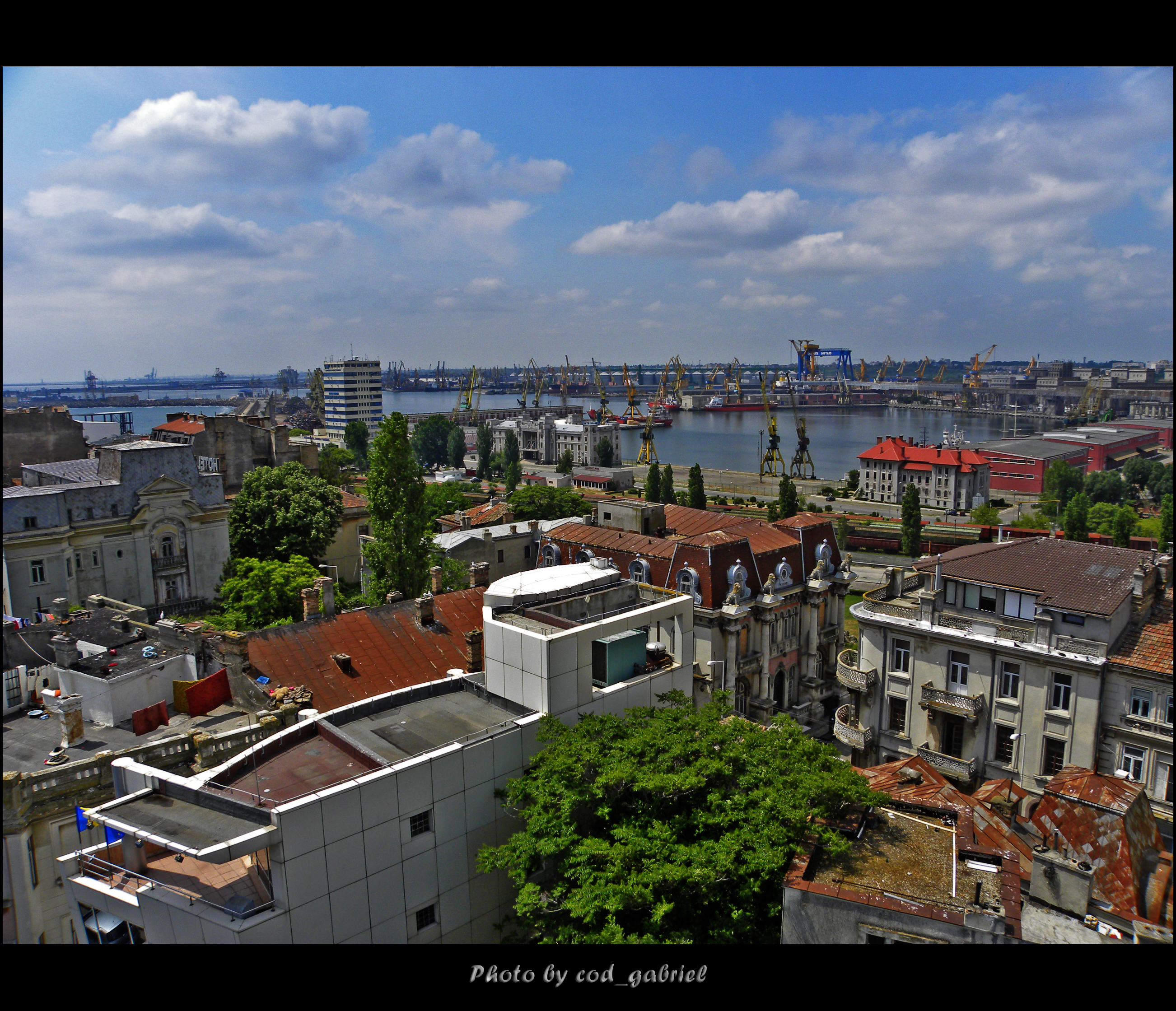 Constanta viewed from a minaret