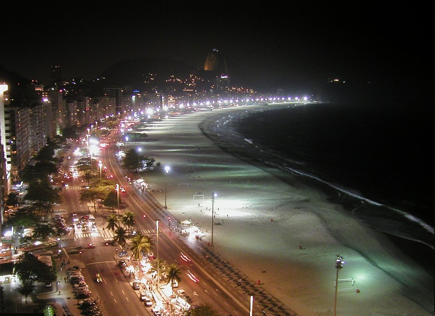 Copacabana beach looking left - Copacabana