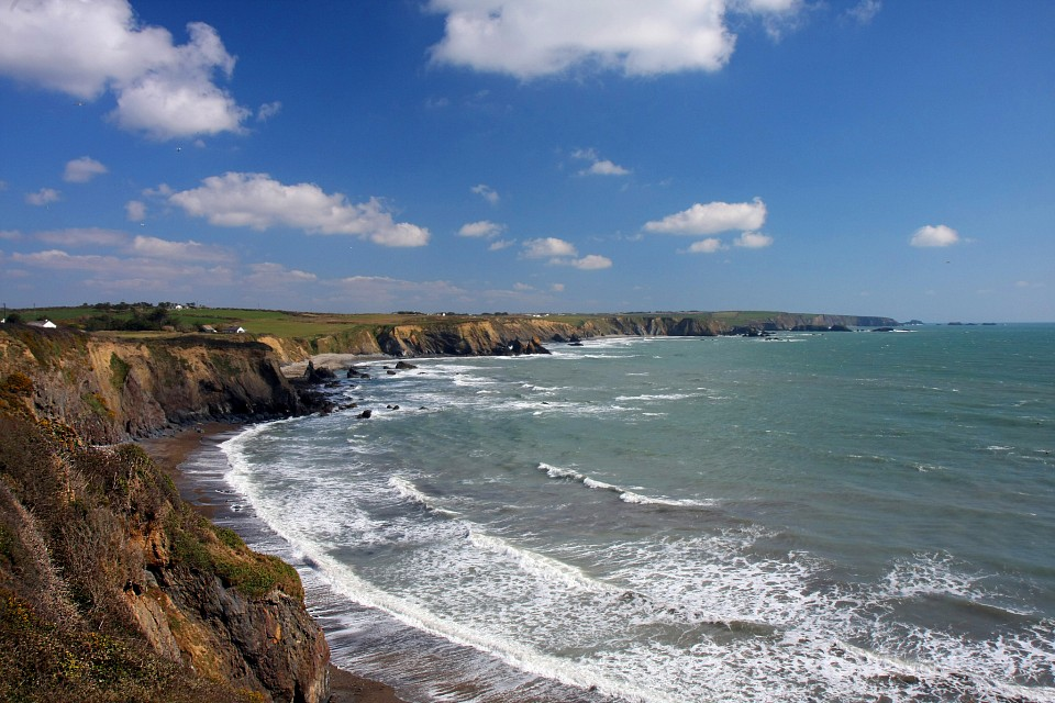 The Copper Coast, County Waterford, Ireland. - Copper Coast Geopark