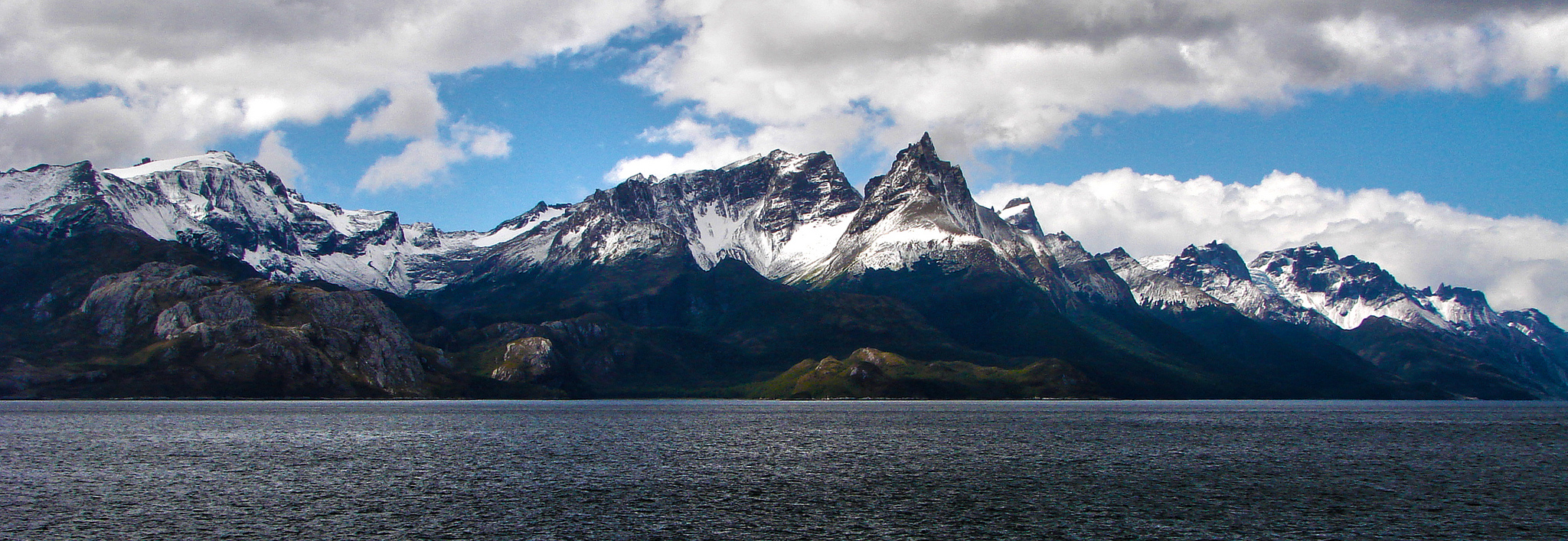 Cordillera Darwin Mountain Range In Chile Thousand Wonders