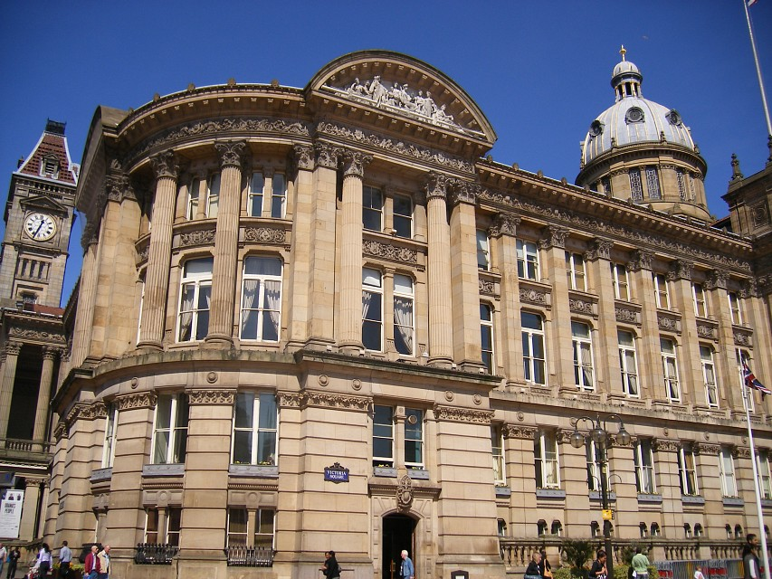 Council House, Birmingham - left side - Council House
