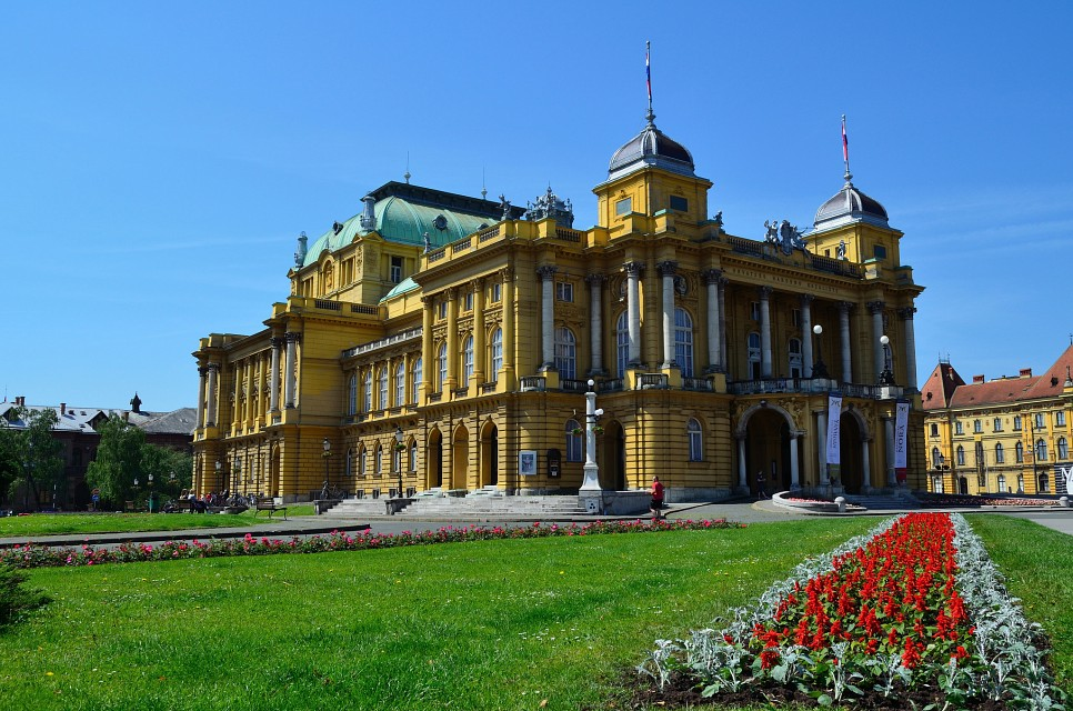 Croatian National Theatre in Zagreb - Zagreb