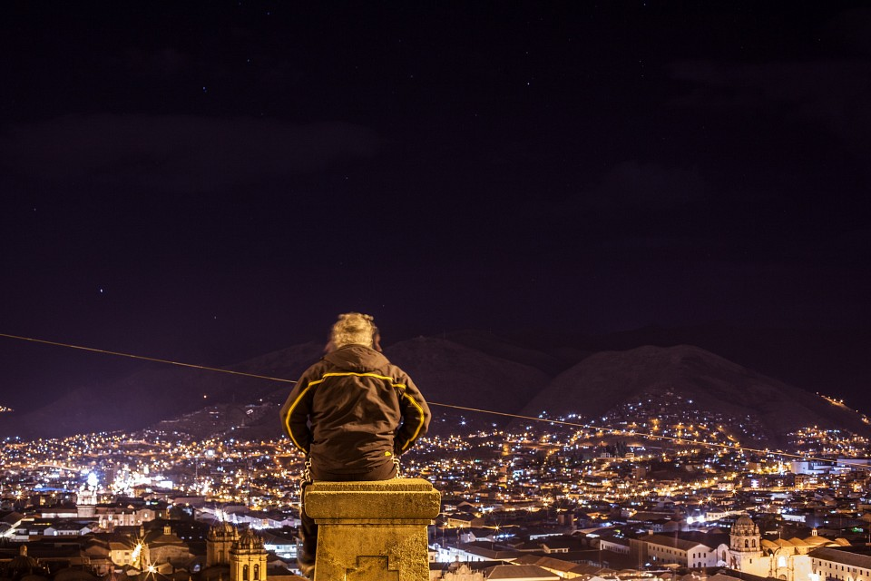 On Top of the Hill, San Cristobal - Cusco