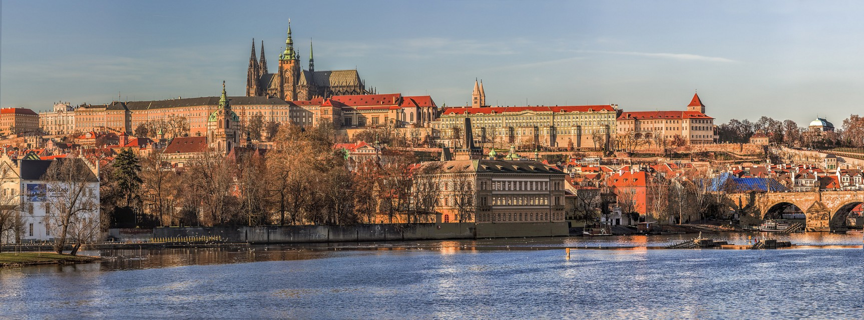 Panorama of Prague Castle - Czech Republic