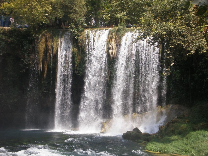 Düden Waterfall - Düden Waterfalls