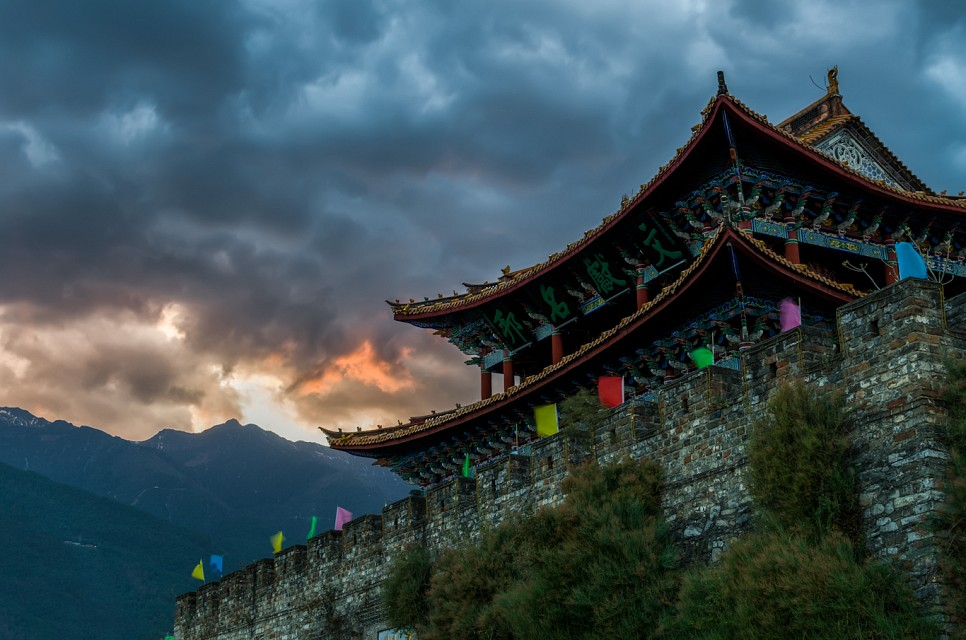 Storm Brewing, Dali, Yunnan Province, China - Dali