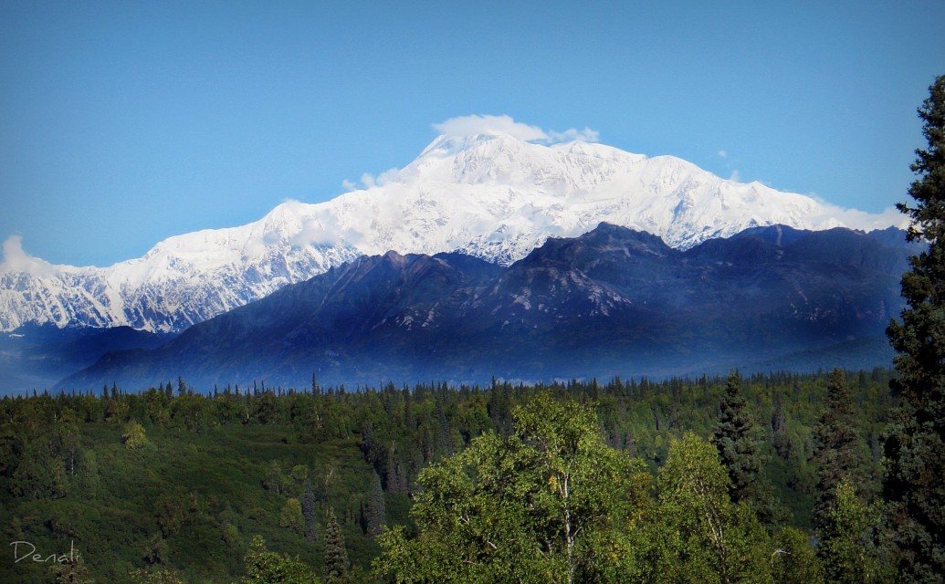 The mountains are calling and I must go. John Muir - Denali National Park and Preserve