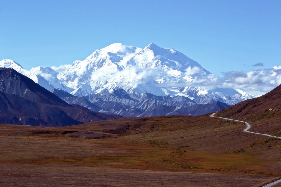Mountain - Alaska's Denali - Denali National Park and Preserve