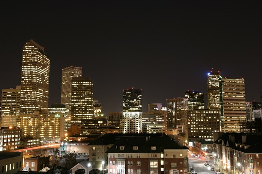 Denver Nightscape - Denver